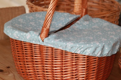 basket with new cover