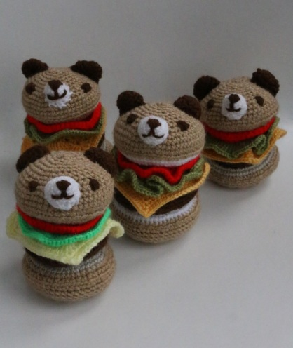 burger bears mark I, II, III & IV