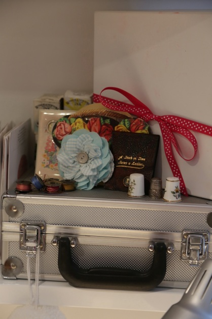 my vintage needle cases and thimbles