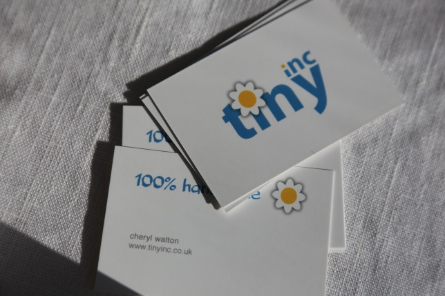 tinyinc business cards