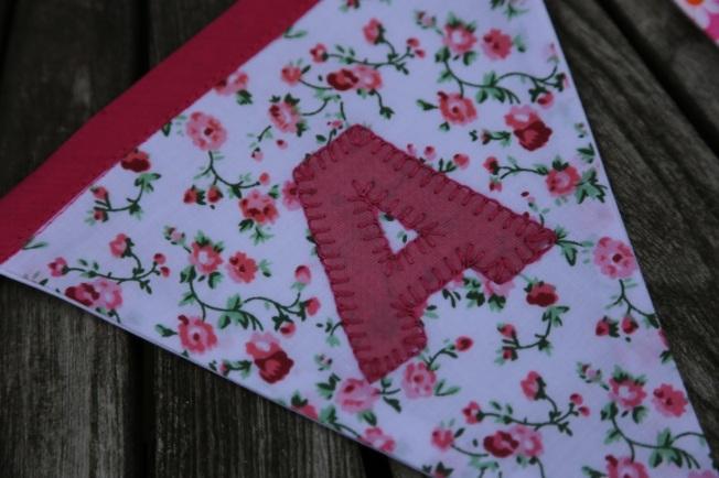 flowery 'A' flag
